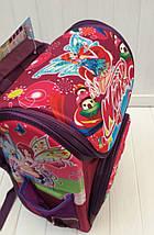 Ортопедический школьный рюкзак Winx для девочки 30*26*12 см, фото 3