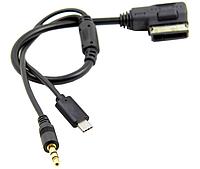 AUX кабель AUDI AMI A4 A6 Q5 Q7, фото 1
