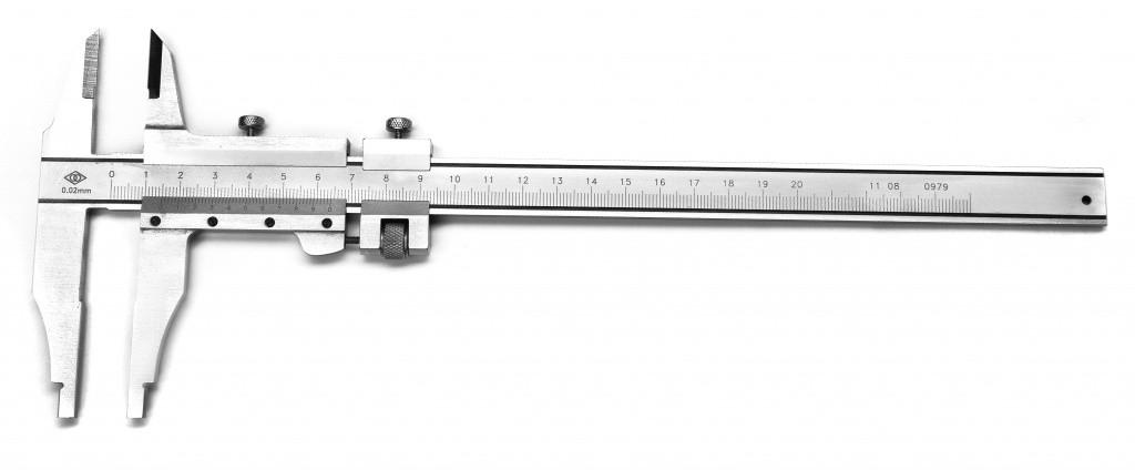 Штангенциркуль ЩЦ-ІІІ 0-630 0.05 губ.125мм Эталон