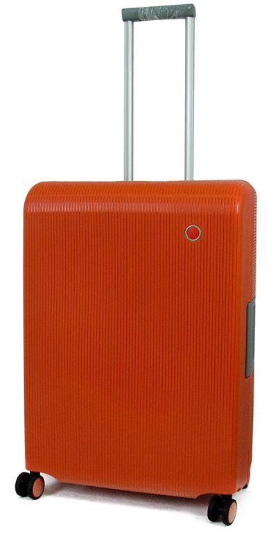 Пластиковый чемодан Echolac FUSION/Electric Orange M EcPW004-402-70 оранжевый 67 л