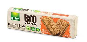 Печиво GULLON BIO Organic 4 злаки зі спельтою, 170г, 16шт/ящ