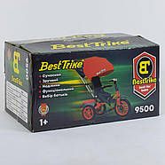 Велосипед трехколёсный Best Trike 9500 - 9172 Красный Гарантия качества, фото 6