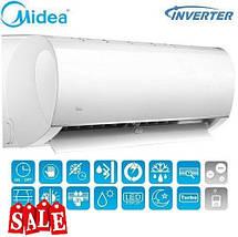 Кондиционер- Midea Blanc Inverter (-15°C) MSMA-09HRDN1-Q ION, фото 2