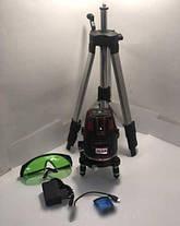 ✔️ Лазерный уровень, нивелир Max MAX 03 + штатив Зеленый Луч 50м, фото 3