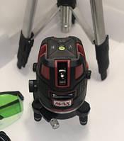 ✔️ Лазерный уровень, нивелир Max MAX 03 + штатив Зеленый Луч 50м