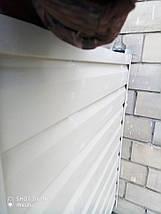 Міцна зовнішня обшивка балконів сайдингом, фото 2