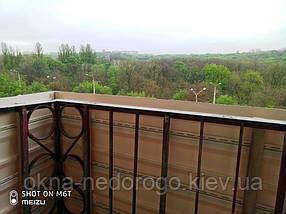 Міцна зовнішня обшивка балконів сайдингом, фото 3