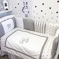 """Комплект в детскую кроватку - подушки """"Маленький ангел"""""""