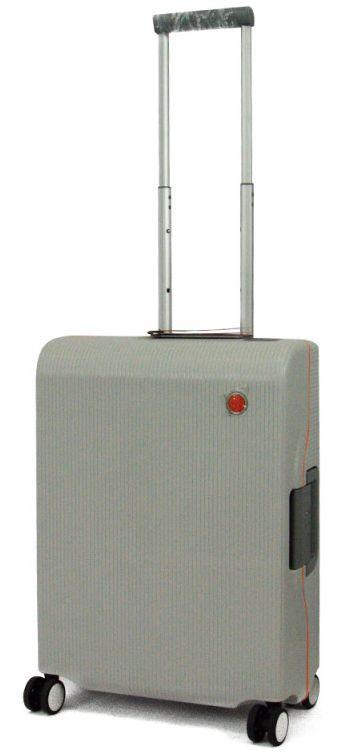 Малый чемодан Echolac FUSION/Titanium Grey S серый 46 л