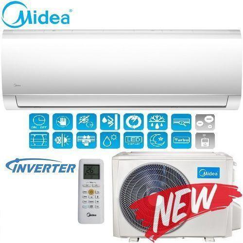 Кондиционер- Midea Blanc Inverter New 2018 (-15°C) MA-09N1DO-I