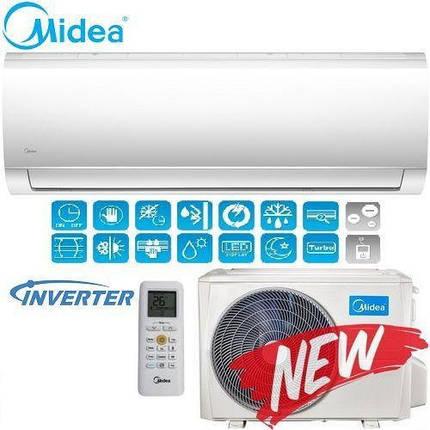 Кондиционер- Midea Blanc Inverter New 2018 (-15°C) MA-09N1DO-I, фото 2