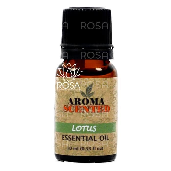 Эфирное масло лотоса (Lotus Essential Oil, Aromascented), 10 мл