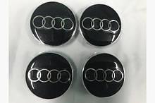 Колпачки в титановые диски (4 шт) Audi