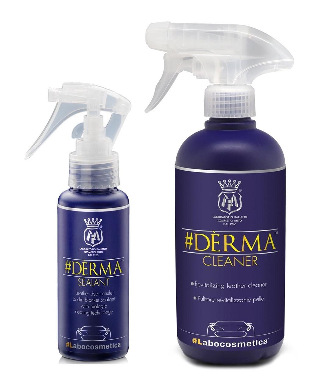 Комплект для очистки и длительной защиты кожаного салона