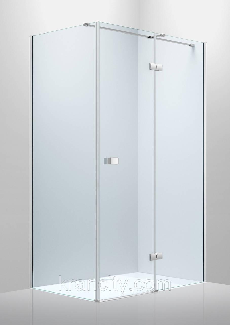 Душевая кабина 1200*800*2000мм (стекла+двери)правая, распашная, стекло прозр. 8мм VOLLE LIBRAI 10-22-908Rglass