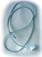 Шнур для утюга с вилкой 10\16А 220В и заземлением