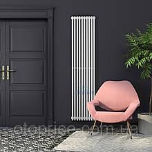 Вертикальный дизайнерский радиатор Praktikum 1 1800/387 Betatherm 8-10 м.кв.