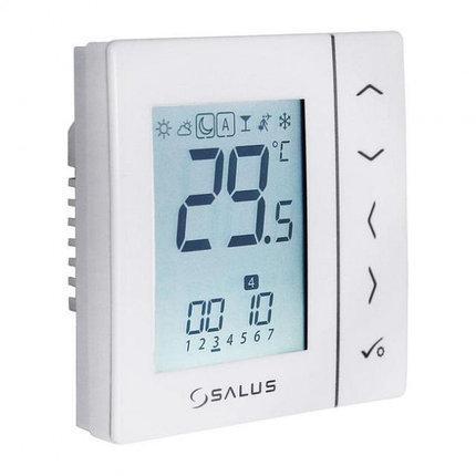 SALUS VS10WRF Беспроводной цифровой электронный терморегулятор предназначен для скрытого монтажа