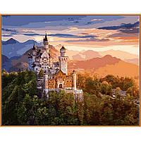 """Картина по номерам, картина-раскраска """"Замок Нойванштайн"""" 40Х50см NB908"""