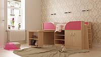 Детская кровать с выдвижным столом Пумба 1,9х0,8