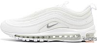 Женские кроссовки Nike Air Max 97 Triple White 921826-101, Найк Аир Макс 97