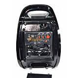 Портативная Акустическая система GOLON RX-810 BT Колонка-комбоусилитель Bluetooth + MP3, радиомикрофон, пульт,, фото 4