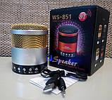 Портативная колонка Wster WS 851, фото 7