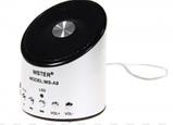 Портативная Bluetooth колонка WSTER WS-A9 MP3 Microphone FM USB аккумуляторная , фото 4