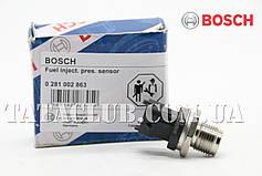 Датчик давления топлива Bosch 0 281 002 863