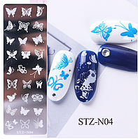 Пластина для стемпинга STZ-N04