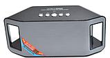 Портативная Bluetooth колонка WATER WS-Y66B радиоприемник колонка wster музыкальная блютуз колонка, фото 7
