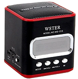Компактная портативная колонка с USB CardReader и FM WSTER WS-215 , фото 8