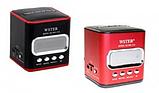 Компактная портативная колонка с USB CardReader и FM WSTER WS-215 , фото 9