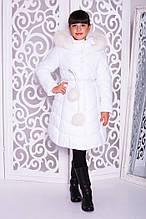 Зимове пальто на дівчинку «Шейла»
