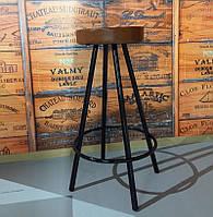 Барный стул в индустриальном стиле, Стул лофт Диана