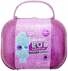 Куклы Лол декодер в чемодане 60 сюрпризов L.O.L. Surprise Bigger 553007