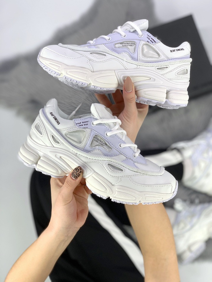 Женские кроссовки Adidas RAF Simons White