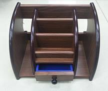 Органайзер, подставка офисная, лоток для папок дерево № XD-5031