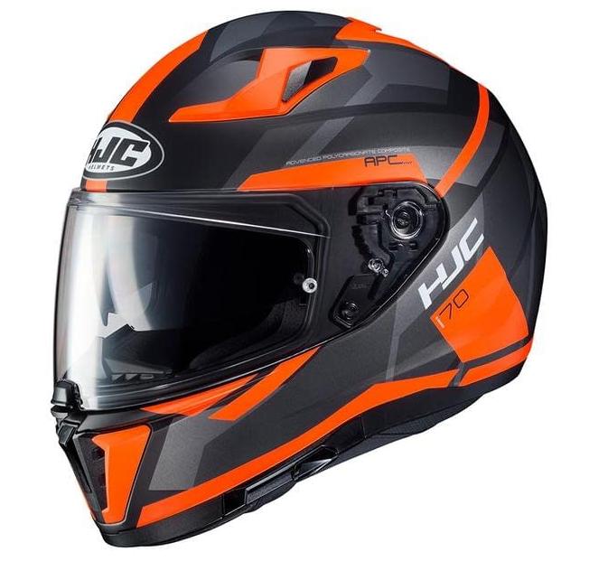 Мотошлем Hjc i70 Elim (Black Orange)