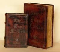 Шкатулка книга набор из двух книг Миллион 27 см
