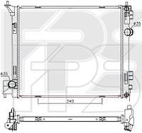 Радиатор охлаждения Nissan X-Trail (AVA) FP 50 A292