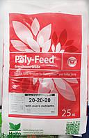 Удобрение хелатное с микроэлементами Полифид 20.20.20., 25 кг ( период роста и цветения)