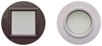 Окна с кристаллическим остеклением