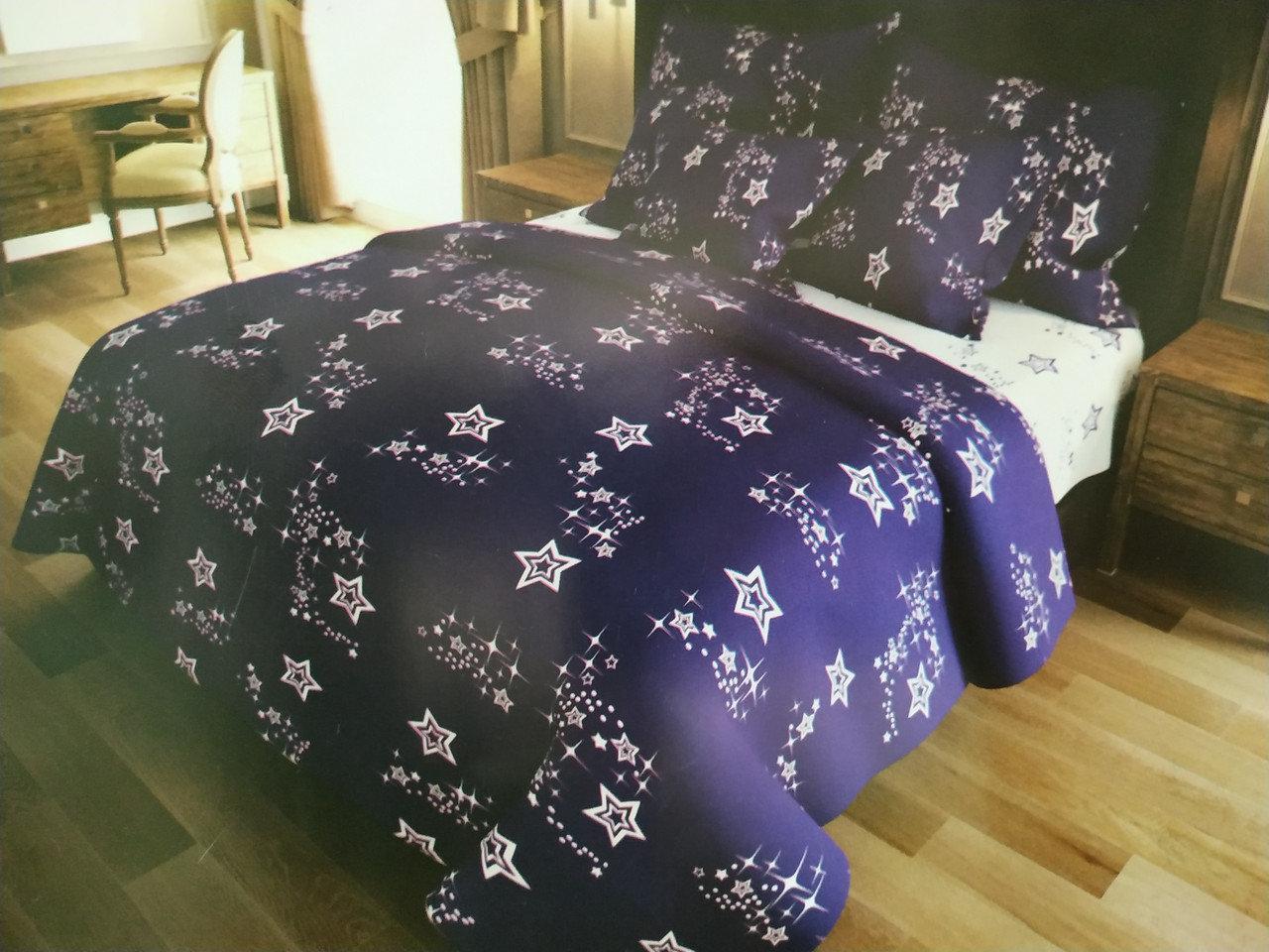 Комплект постельного белья евро Звёздный час