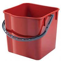 Ведро для уборки помещений, на 25 литра, размеры 35/35/36 см.