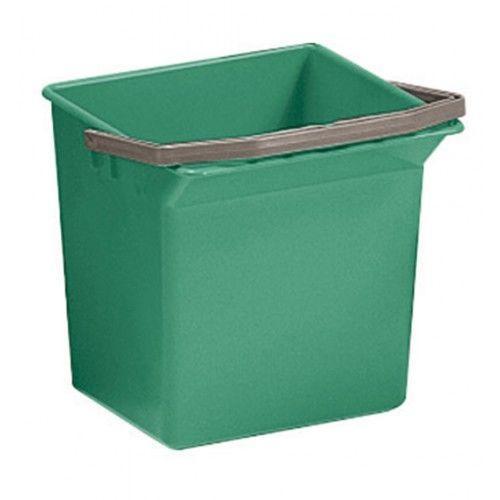 Відро для прибирання з ручкою 6л зеленого кольору