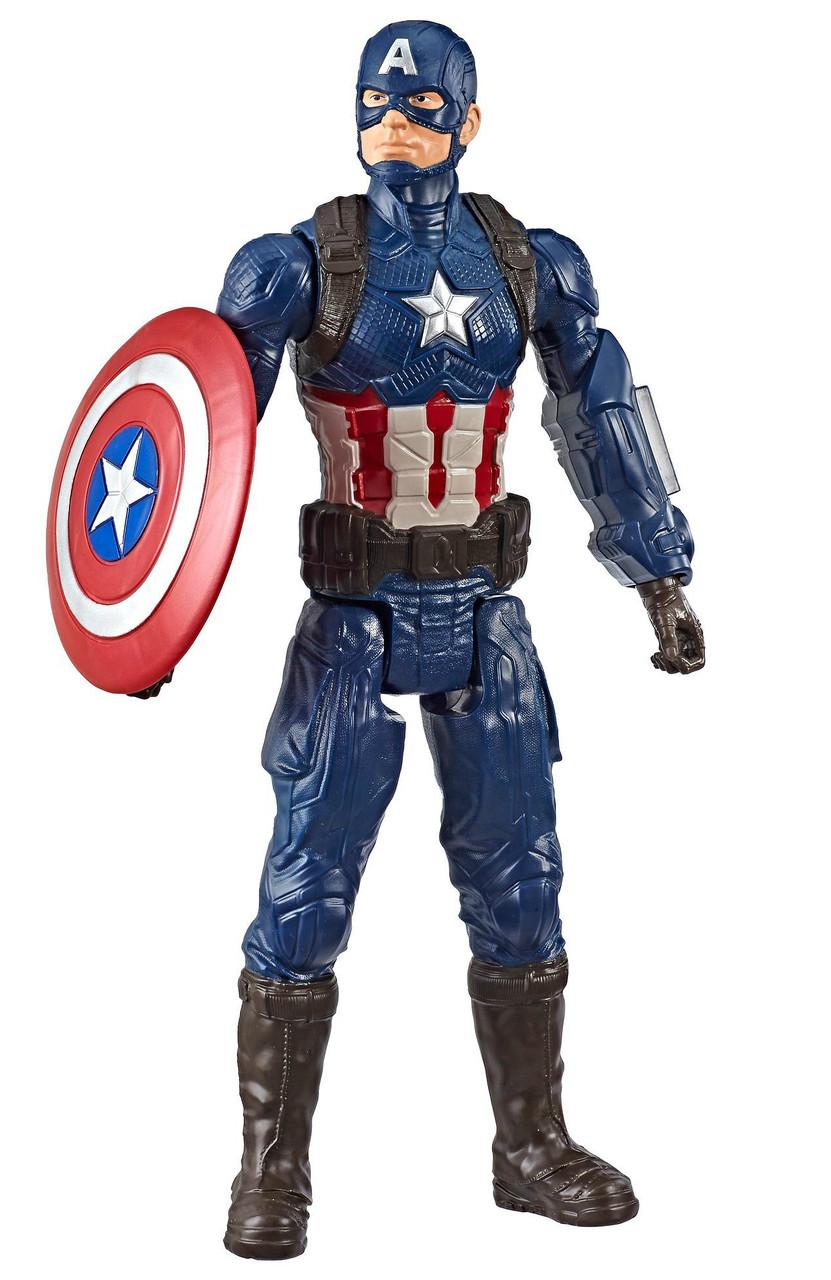 Фигурка Hasbro Капитан Америка, Мстители Финал - Captain America, Avengers Endgame, Titan Hero Series