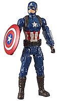 Фигурка Hasbro Капитан Америка, Мстители Финал - Captain America, Avengers Endgame, Titan Hero Series