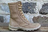 Тактичне взуття, берци чоловічі з натуральної шкіри ОС БЕЖ ПІНА
