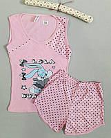 Пижама женская майка и шорты Lola